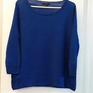 J Crew linen sweater medium
